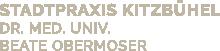 Stadtpraxis Kitzbühel | Dr. med. univ. Beate Obermoser